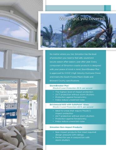 Page 5 - Simonton Coastal Products Brochure