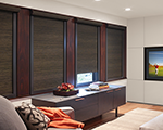 Designer Roller Shades with Blockout system