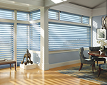Silhouette&reg; window shadings with UltraGlide 2 Click and Walk Away<sup>TM</sup>